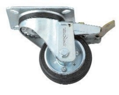 Proel  Flightcase Wheel  Swivel Type  80mm+Brake