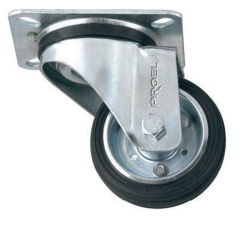 Proel  Flightcase Wheel  Swivel Type  80mm