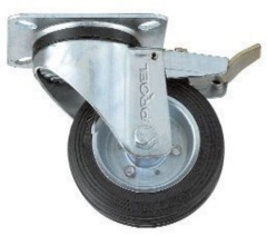 Proel  Flightcase Wheel  Swivel Type 100mm+Brake