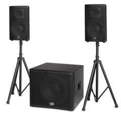 "B52  Active Speaker System  BBE Processor  1.6kW  18""+2 x12"""