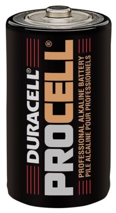 Procell  Alkaline Battery  1.5V  D Size  12 Pack