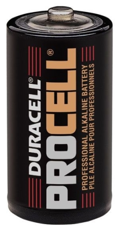 Procell  Alkaline Battery  1.5V  C Size  12 Pack