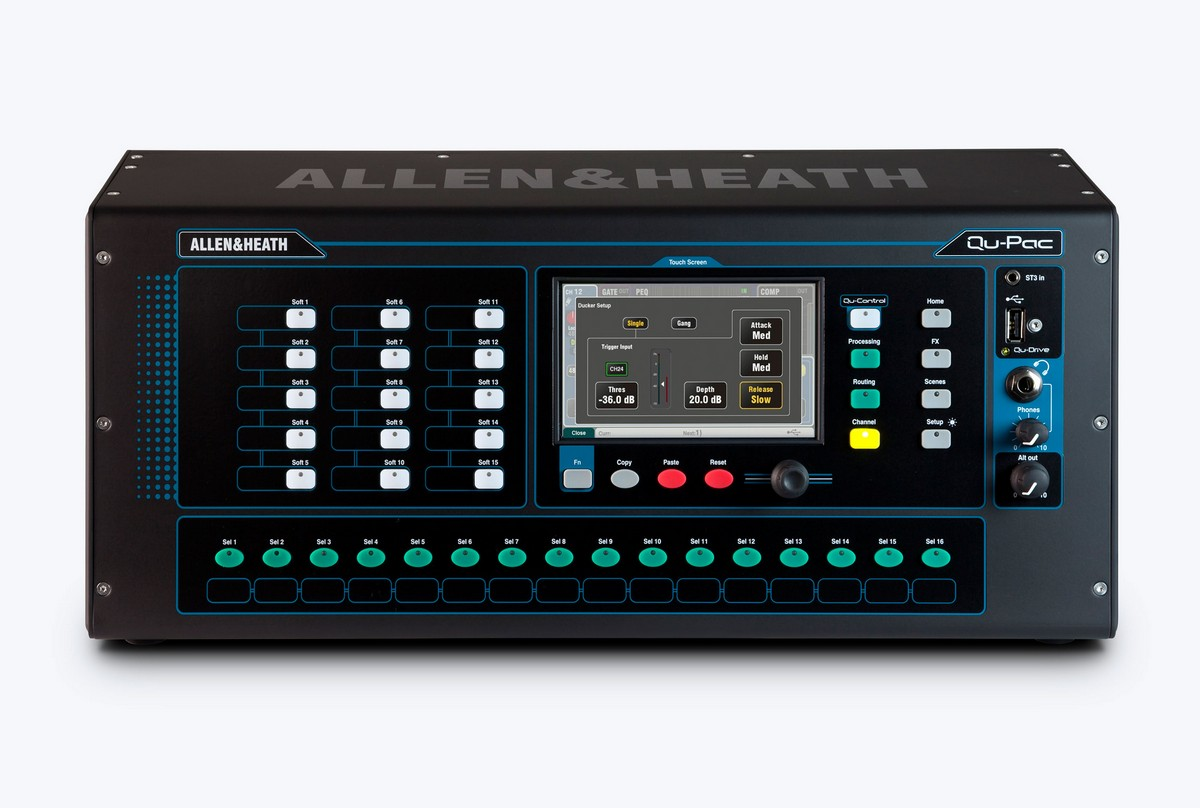 A&H  16 in / 12 out  Digital Mixer