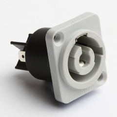 Amphenol  25A Mains Connector  Chassis Socket  Mains Outlet