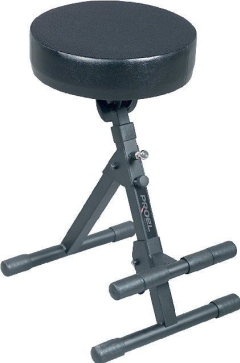 Proel  Musicians Stool  Height Adjustable with Foot Rest
