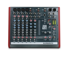 ZED10  Mixer  4 Mono+2 Stereo  2 Aux 2-Track USB Interface
