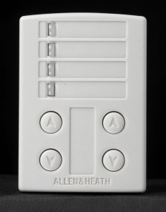 A&H  Digital System Remote Wall Plate  4 x Switch+LED