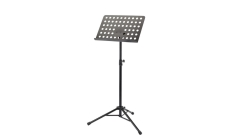 K&M  Music Stand Perforated Black