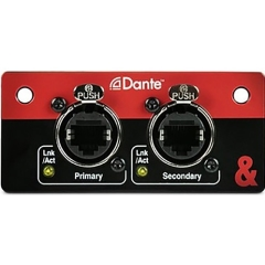 SQ Dante Audio Interface Card for SQ Series Mixers