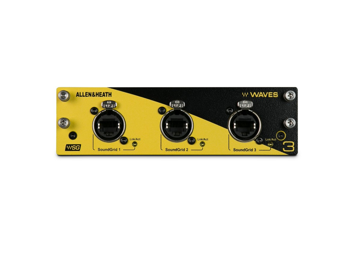 A&H Waves V3 Audio Networking Card