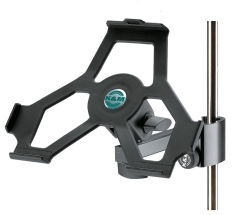 K&M iPad 2,3 & 4 Holder with stand clamp mount