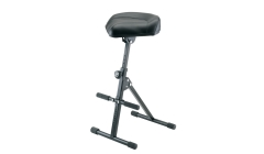 K&M  Musicians PNEUMATIC Stool  with Foot Rest
