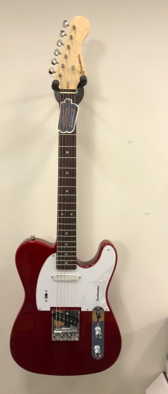 JANSEN  Beatmaster Electric Guitar Candy Apple Red