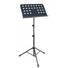 Proel  Music Stand+Bag  Tripod Legs+Solid Top  Steel  BLACK