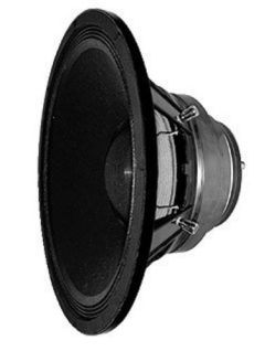 "Radian  Co Axial Driver 15""+2""  500W  8+8 Ohm"