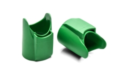 Amphenol XLR AX Connector Sleeve  GREEN