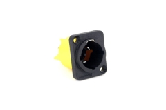 Amphenol  25A Mains Connector  Chassis Socket  Mains Inlet